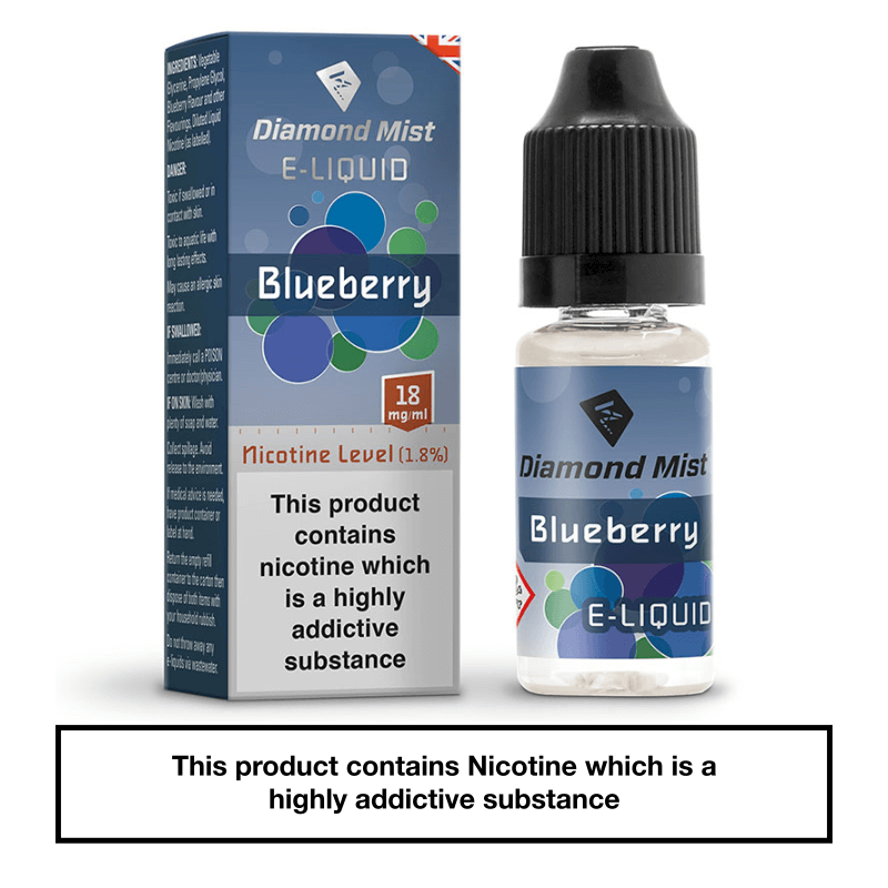 Diamond Mist Blueberry 10ml 18mg
