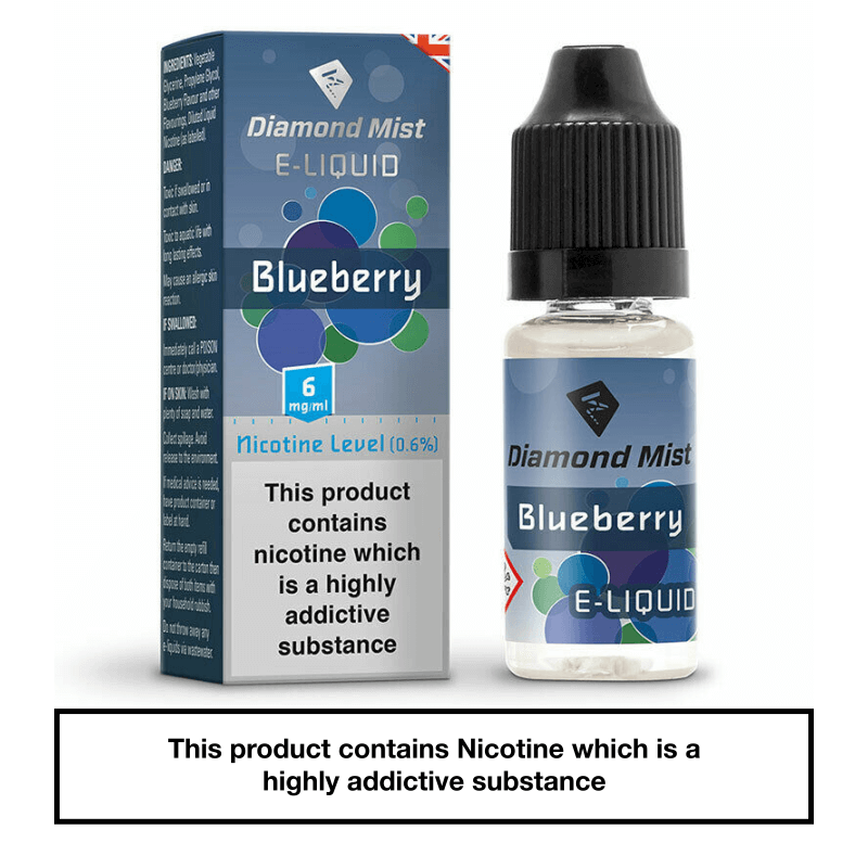 Diamond Mist Blueberry 10ml 6mg