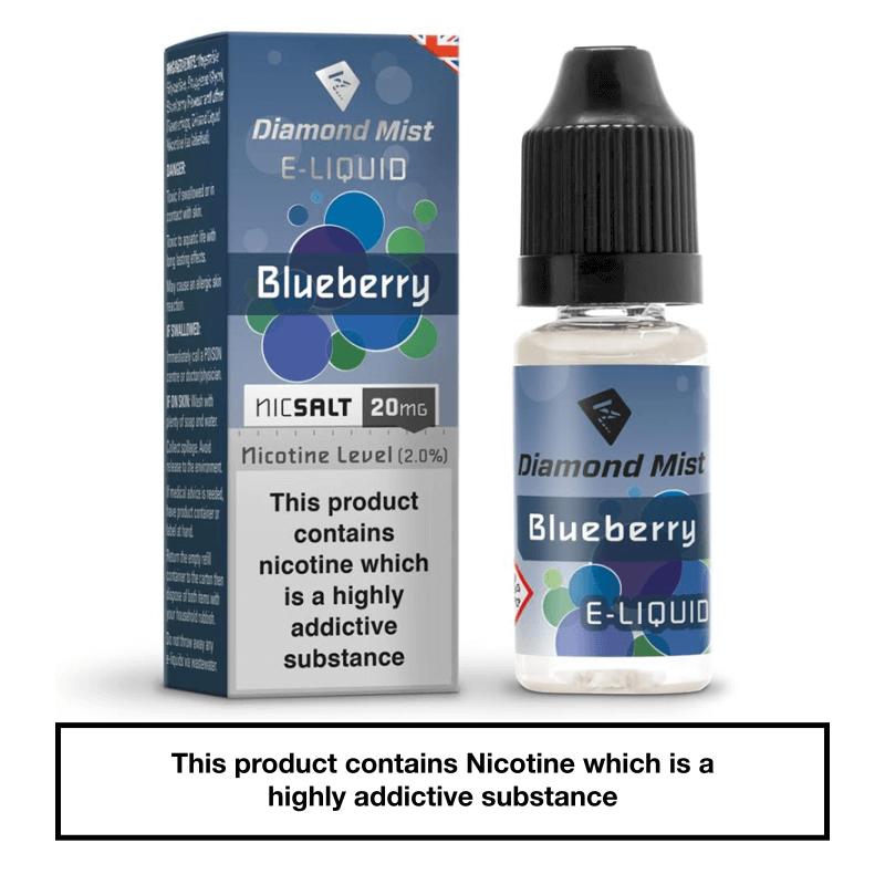 Diamond Mist Blueberry Nic Salt