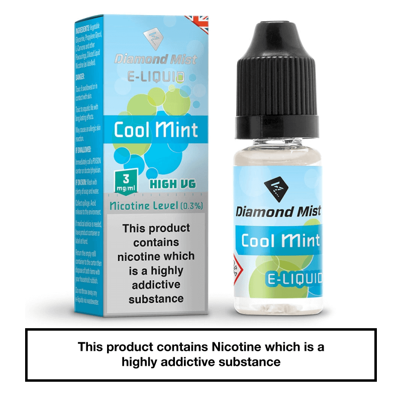 Diamond Mist Cool Mint 10ml 3mg