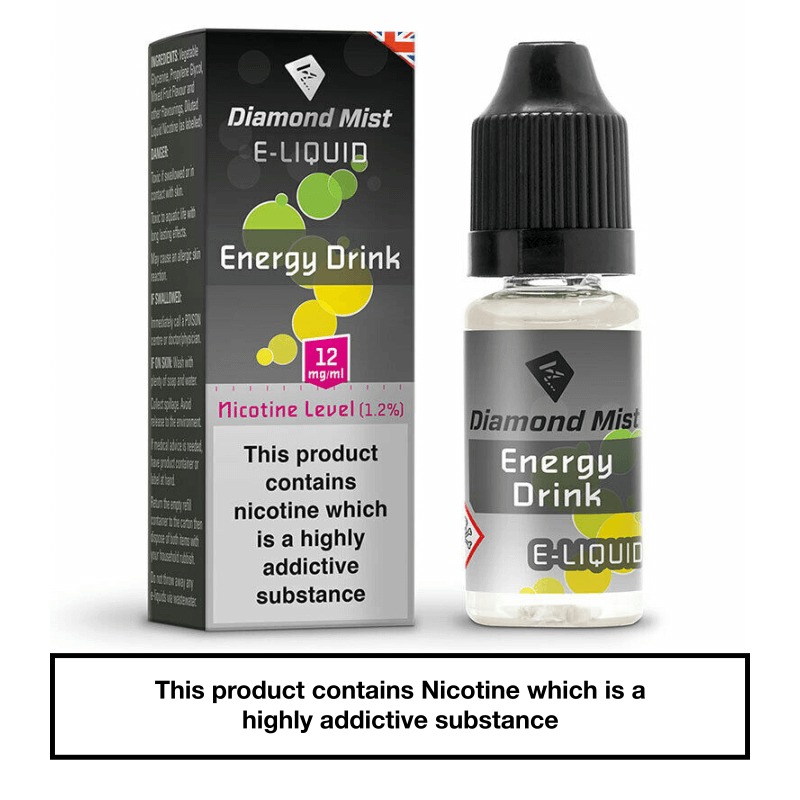 Diamond Mist Energy Drink 10ml 12mg