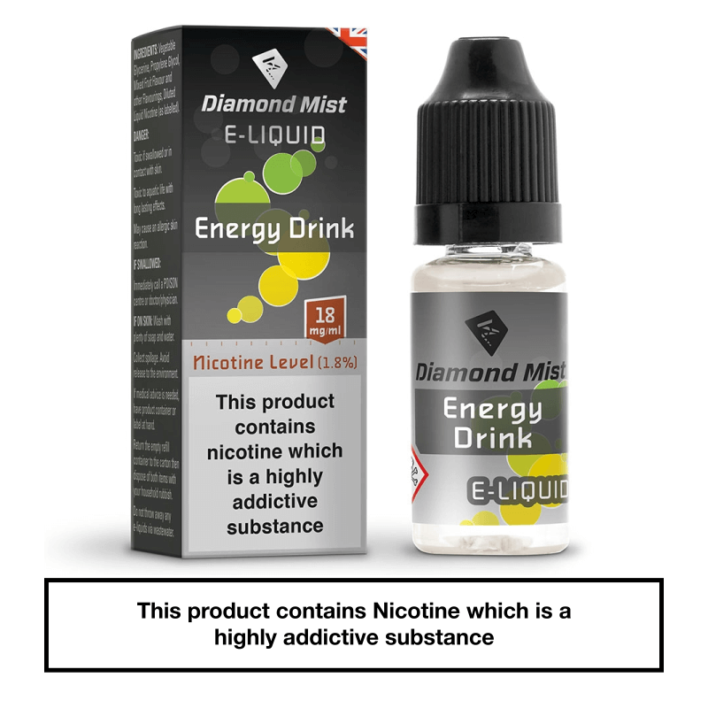 Diamond Mist Energy Drink 10ml 18mg