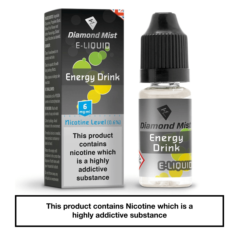 Diamond Mist Energy Drink 10ml 6mg