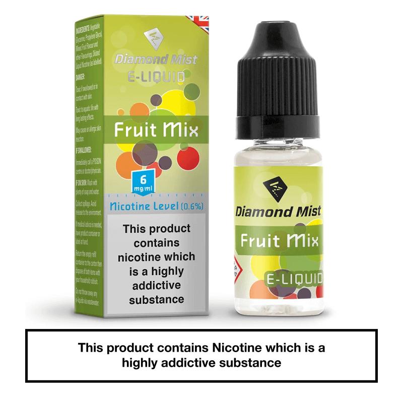Diamond Mist Fruit Mix 10ml 6mg