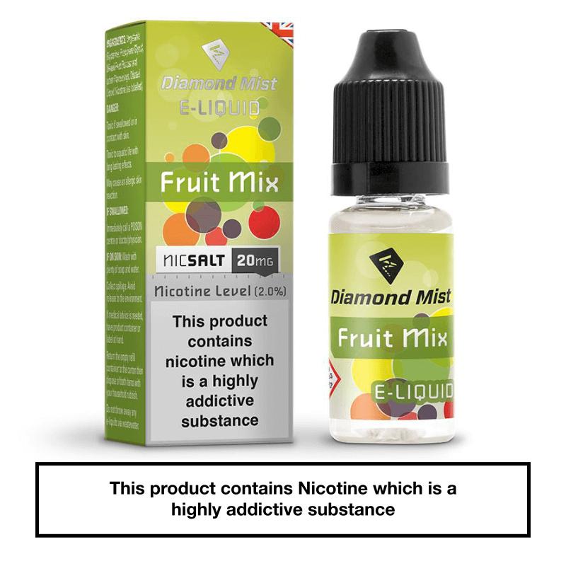Diamond Mist Fruit Mix Nic Salt