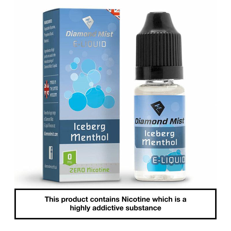 Diamond Mist Iceberg Menthol 10ml 0mg