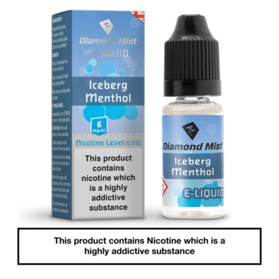 Diamond Mist Iceberg Menthol 10ml 6mg