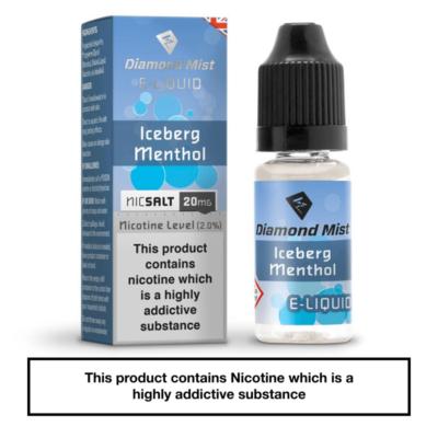 Diamond Mist Iceberg Menthol Nic Salt