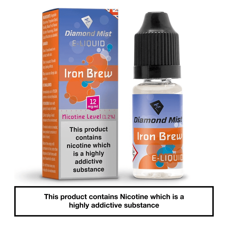 Diamond Mist Iron Brew 10ml 12mg