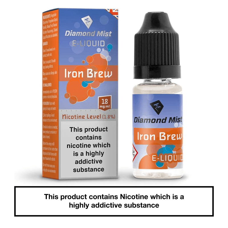 Diamond Mist Iron Brew 10ml 18mg