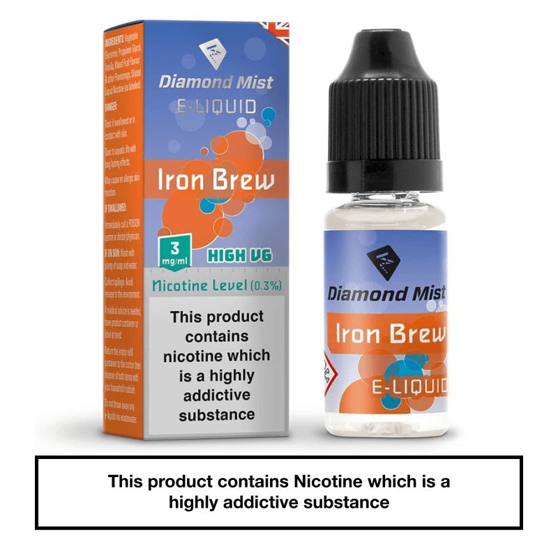 Diamond Mist Iron Brew 10ml 3mg
