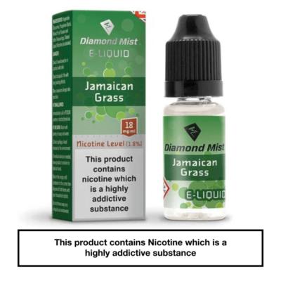 Diamond Mist Jamaican Grass 10ml 18mg
