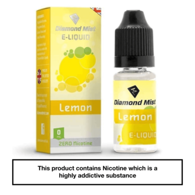 Diamond Mist Lemon 10ml 0mg