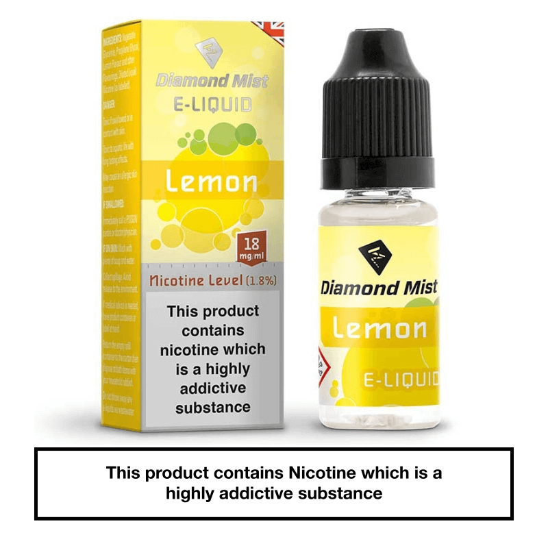 Diamond Mist Lemon 10ml 18mg