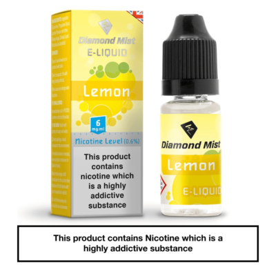 Diamond Mist Lemon 10ml 6mg