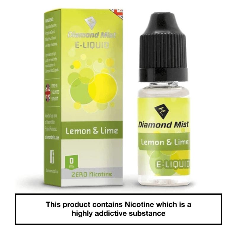 Diamond Mist Lemon & Lime 10ml 0mg