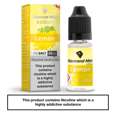 Diamond Mist Lemon Nic Salt
