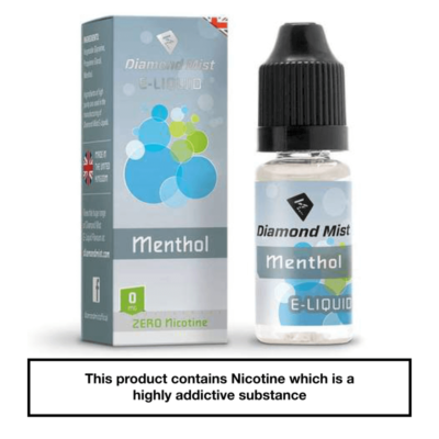 Diamond Mist Menthol 10ml 0mg