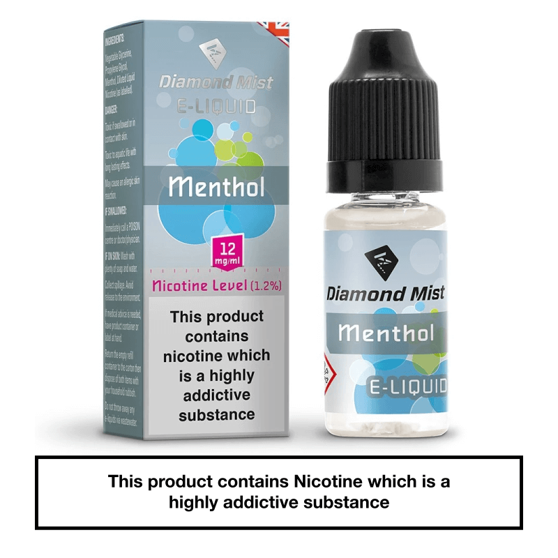 Diamond Mist Menthol 10ml 12mg