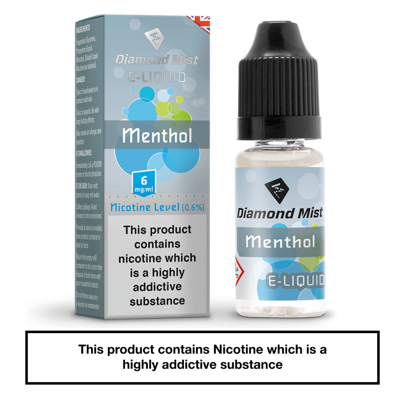 Diamond Mist Menthol 10ml 6mg