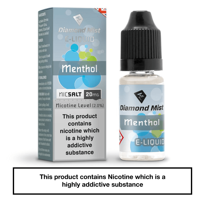 Diamond Mist Menthol Nic Salt
