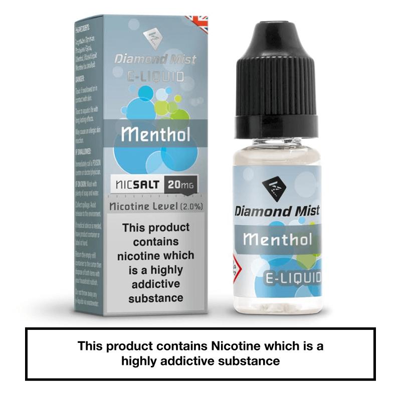 Diamond Mist Menthol Nic Salt
