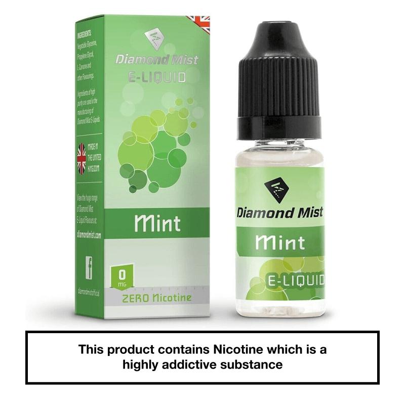 Diamond Mist Mint 10ml 0mg