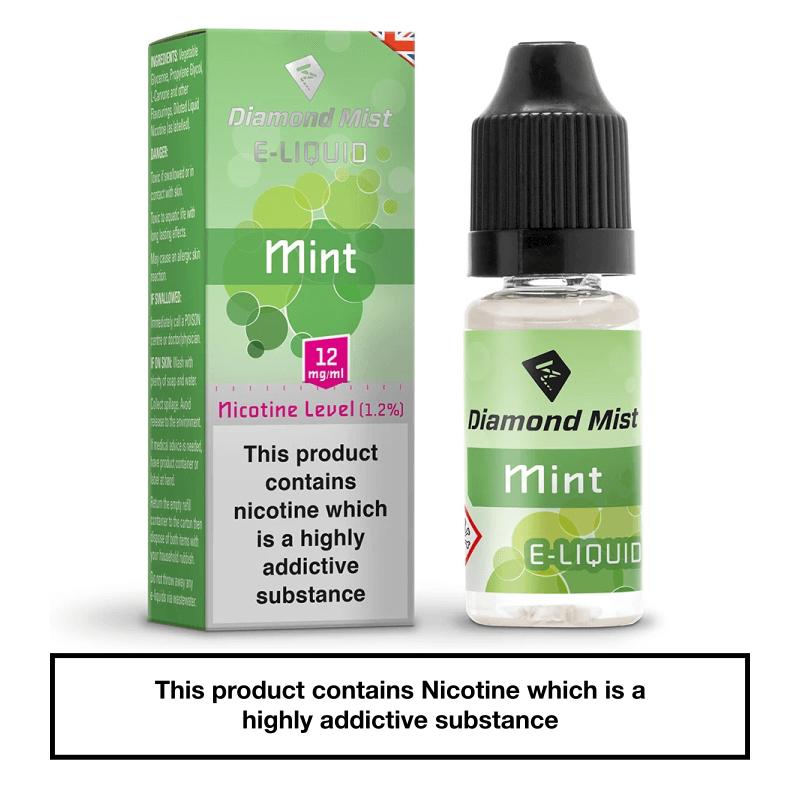 Diamond Mist Mint 10ml 12mg