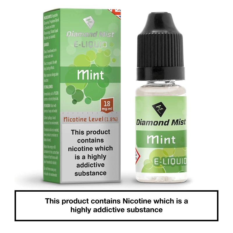 Diamond Mist Mint 10ml 18mg