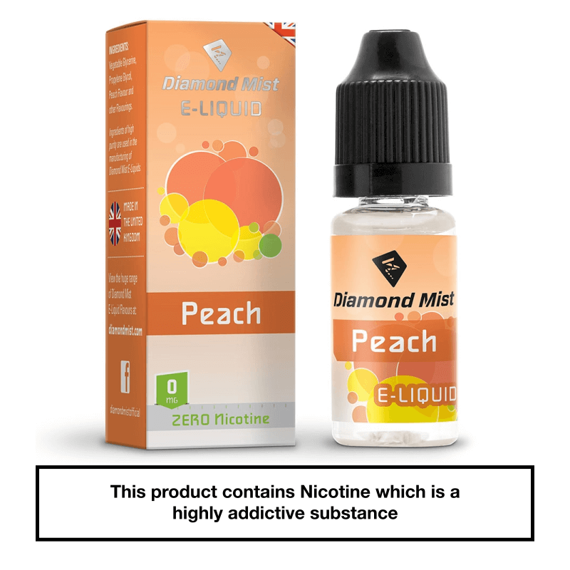 Diamond Mist Peach 10ml 0mg