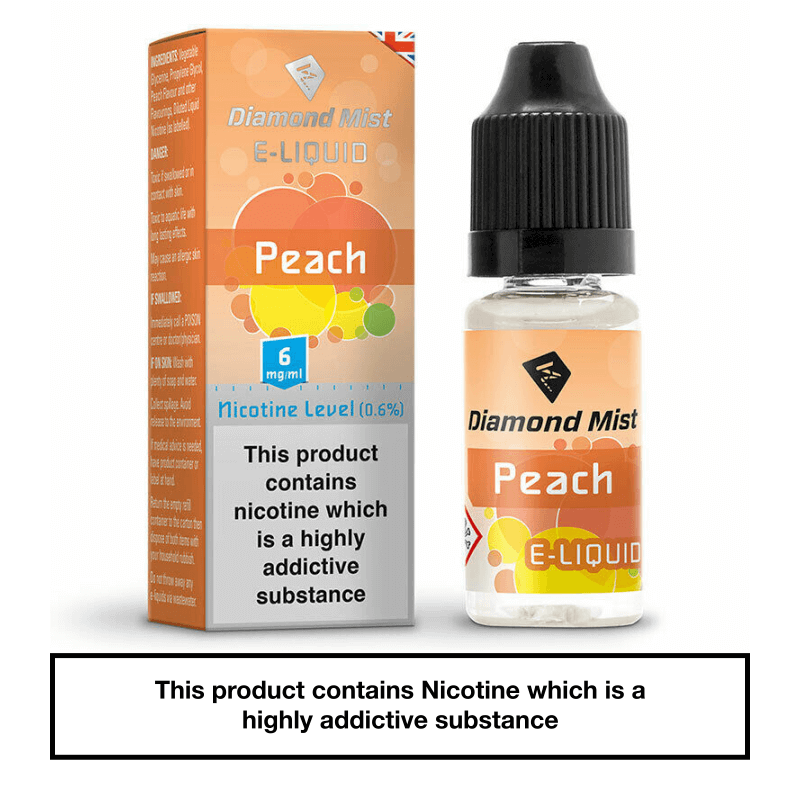 Diamond Mist Peach 10ml 6mg