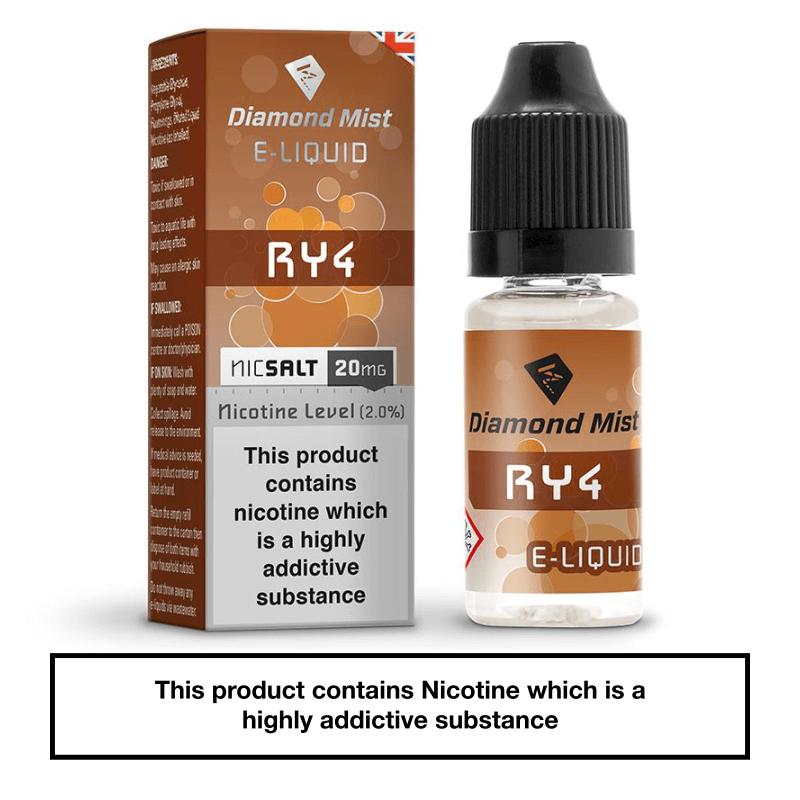 Diamond Mist RY4 Nic Salt