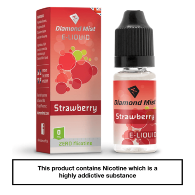Diamond Mist Strawberry 10ml 0mg