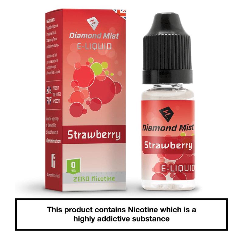 Diamond Mist Strawberry 10ml 0mg