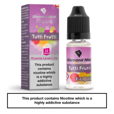 Diamond Mist Tutti Frutti 10ml 0mg