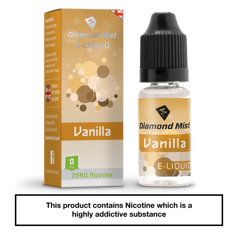 Diamond Mist Vanilla 10ml 0mg