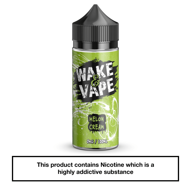 Wake & Vape Melon Cream 100ml