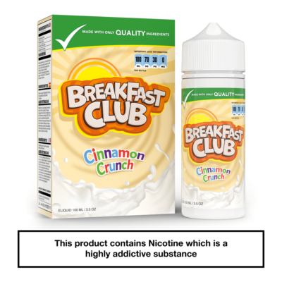 Breakfast Club Cinnamon Crunch 100ml