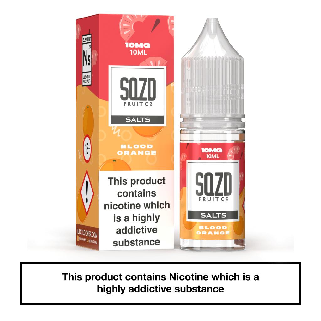 SQZD Blood Orange Nic Salt 10ml