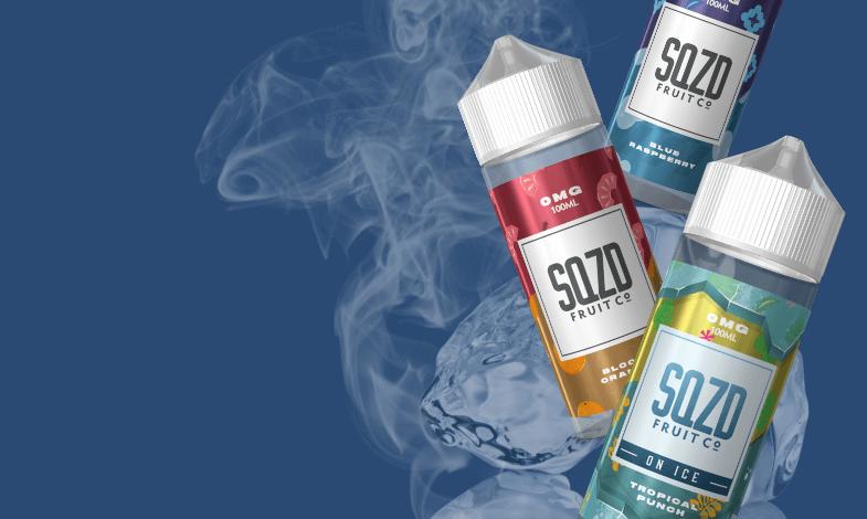 SQZD E Liquids Banner
