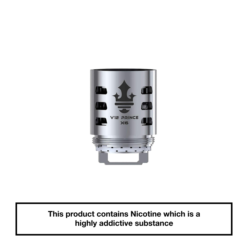 Smok TFV12 Prince Coils - X6 0.15 ohm