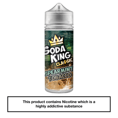 Soda King Spearmint Tobacco 100ml
