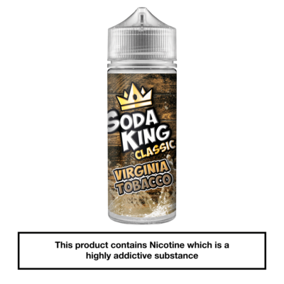Soda King Virginia Tobacco 100ml