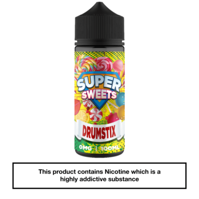 Super Sweets Drumstix 100ml