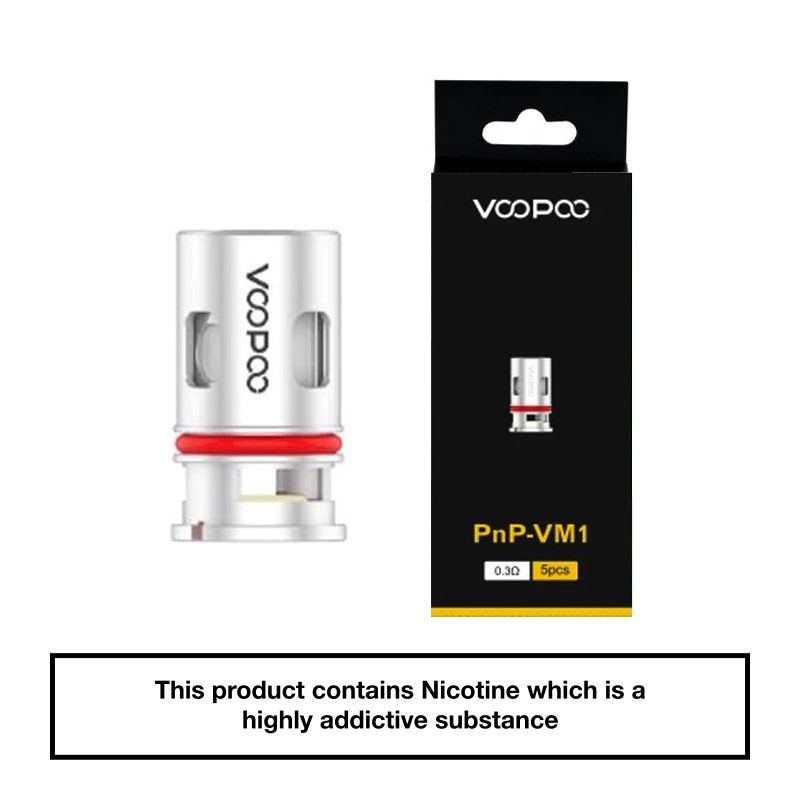 VooPoo Vinci PnP Replacement Coils 5 Pack - VM1