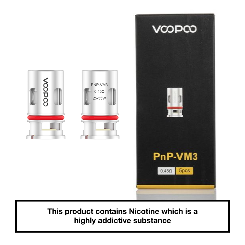 VooPoo Vinci PnP Replacement Coils 5 Pack - VM3