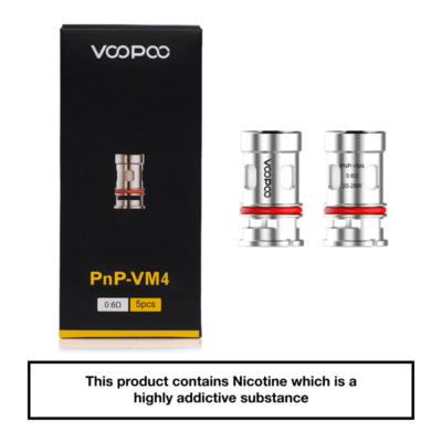 VooPoo Vinci PnP Replacement Coils 5 Pack - VM4