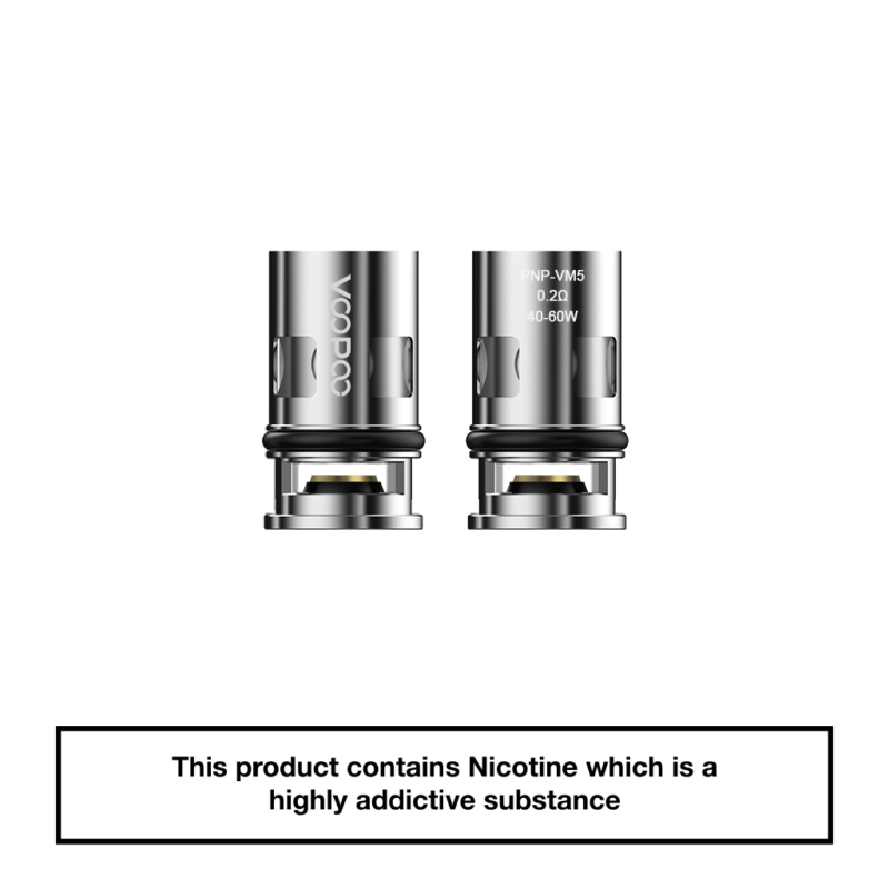 VooPoo Vinci PnP Replacement Coils 5 Pack - VM5