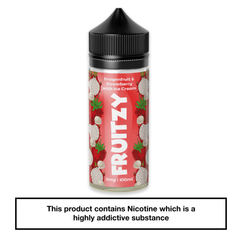 Fruitzy Dragonfruit & Strawberry with Ice Cream 100ml