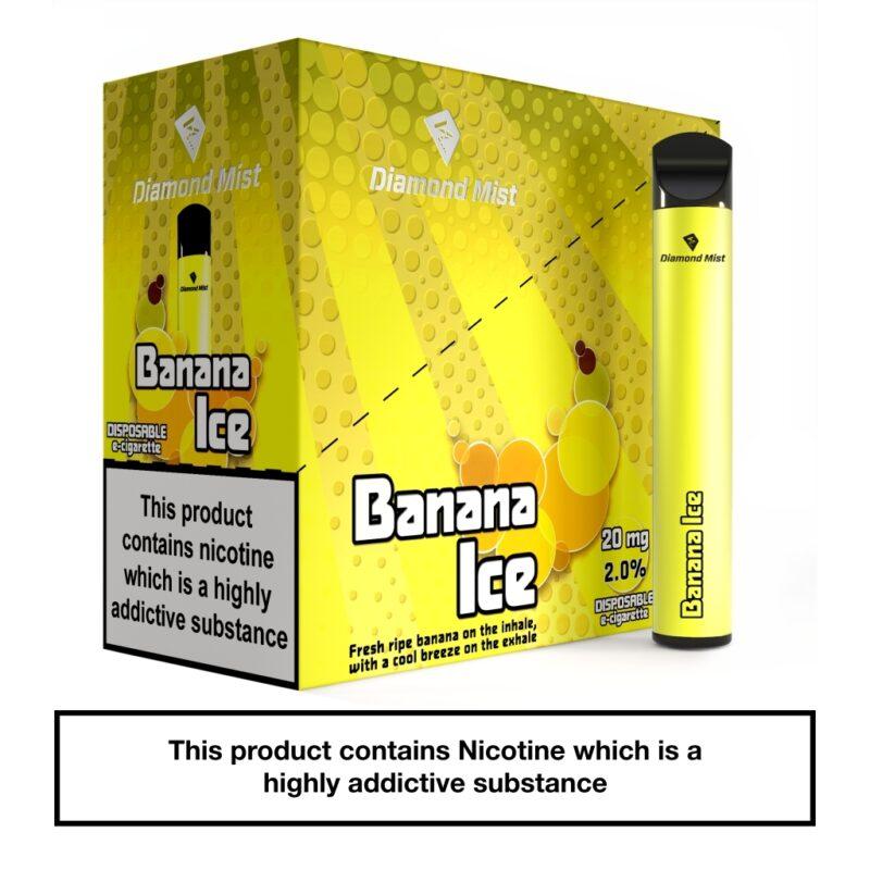 Diamond Mist Bar Banana Ice 20mg_x5